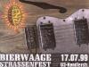 Bierwaage Strassenfest 1999 Fenzl Flyer