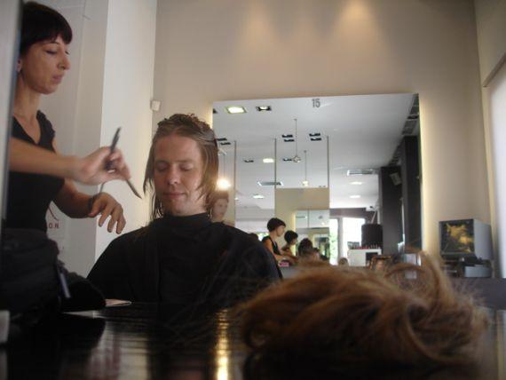 Edi's Haircut 2