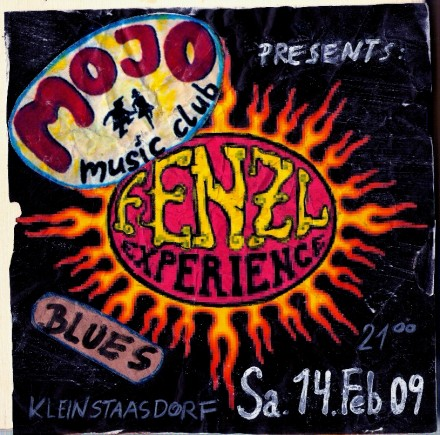 Fenzl Experience Mojo Music Club Flyer