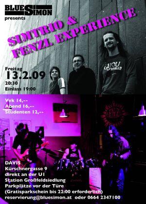 Simtrio & Fenzl Experience - Flyer