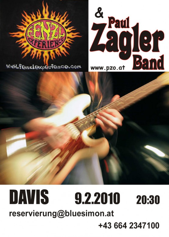 Fenzl Experience & Paul Zagler Band - Flyer