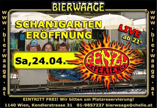 Schanigarten Eröffnung 2010